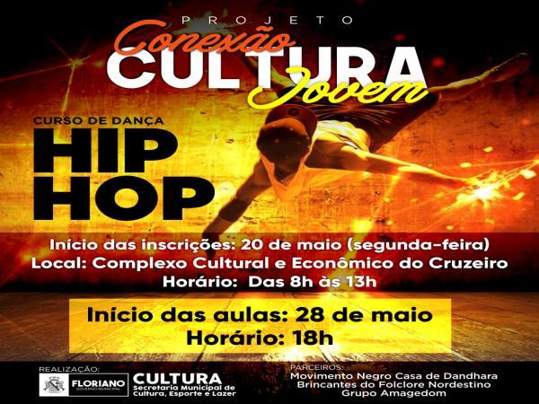 Cultura abre inscrições para curso de dança Hip Hop