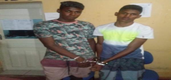 Irmãos são presos acusados de esfaquear três pessoas em bar em cidade do Piauí