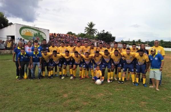 Seleção de Amarante vai enfrentar Nazária no Abmael Resende, no sábado