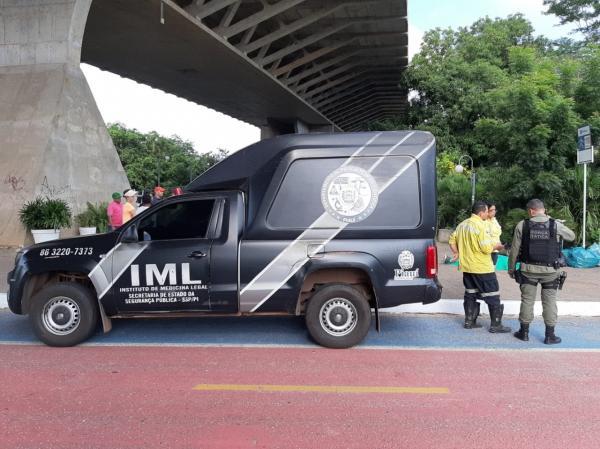Homem morre após se jogar da Ponte Estaiada em Teresina
