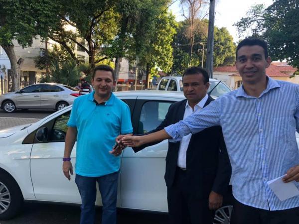 Prefeitura de Hugo Napoleão é contemplada com um novo veículo para saúde do município