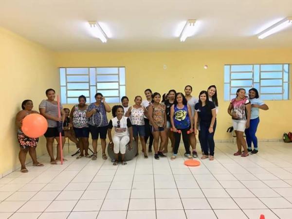 Grupo 'Medida Certa' participa de circuitos de atividades físicas em Amarante
