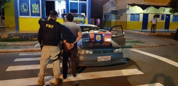 Picos: Homem é preso transportando cocaína avaliada em mais de R$ 1 milhão