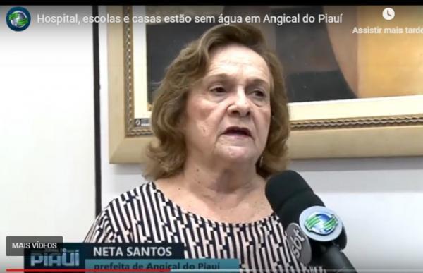 Prefeita Neta Santos (Imagem: Reprodução)