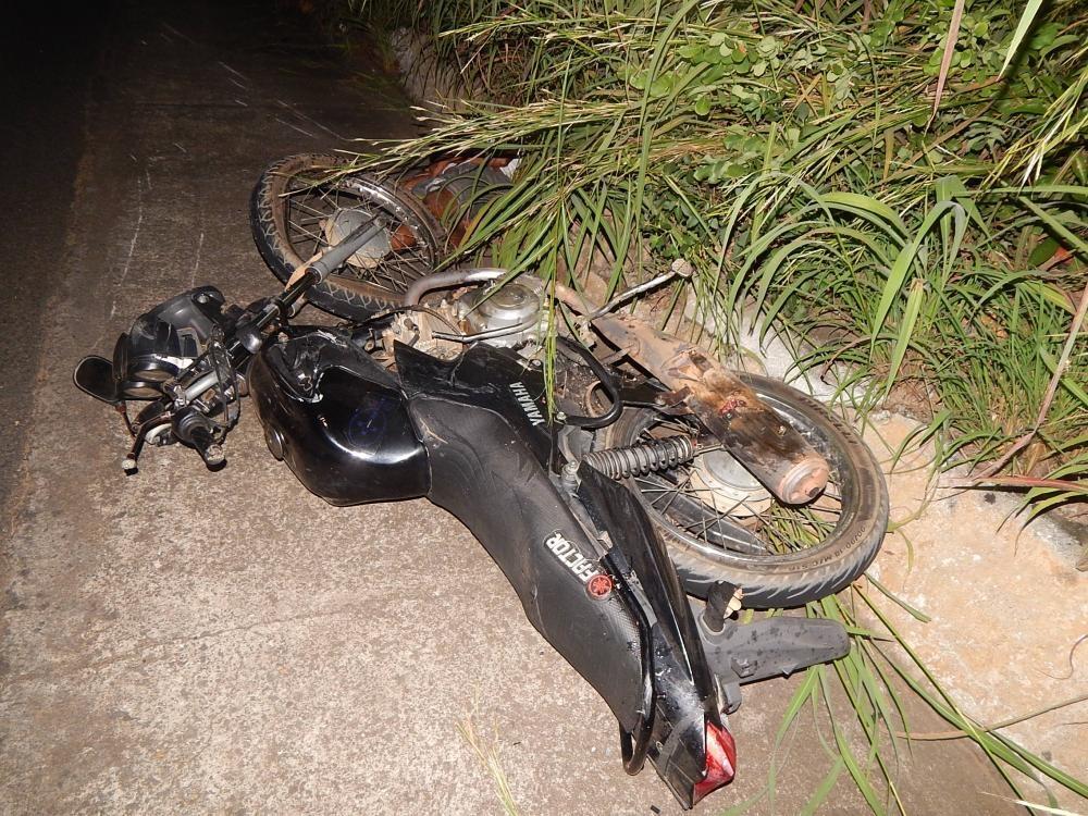 Moto envolvida no acidente (Imagem: Divulgação)