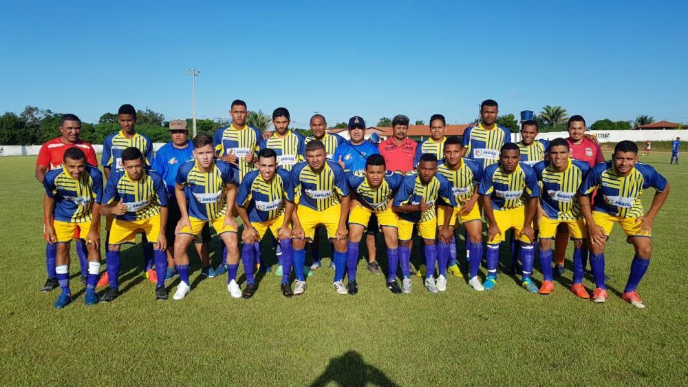 Seleção de Angical do Piauí (Imagem: Divulgação Ascom)