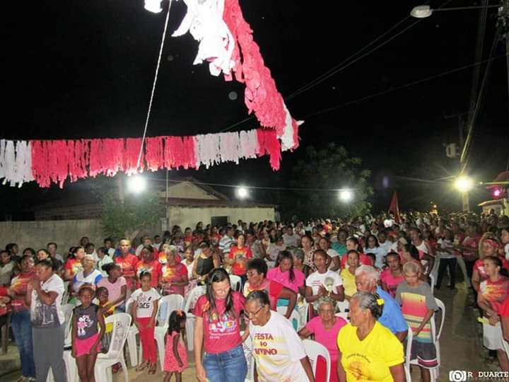 Imagem feita durante o pré-festejo (Foto: Raimundo Duarte)