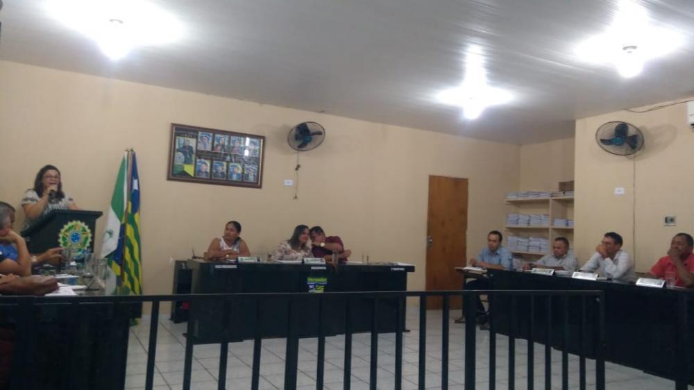 Sessão na Câmara Municipal (Imagem: João Paulo)