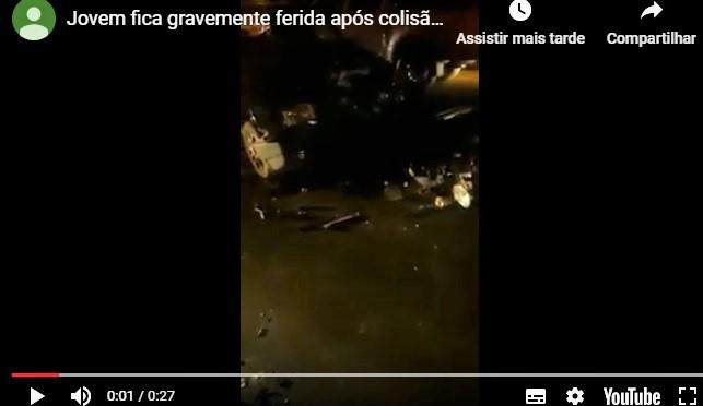 Local do acidente (Imagem: Reprodução)