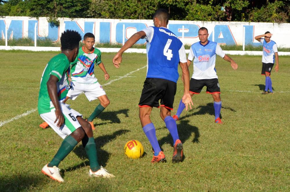 Jogo entre Agricolândia e Regeneração (Imagem: Valdomiro Gomes/CANAL 121)