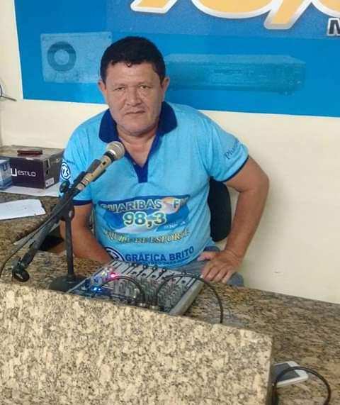 Radialista esportivo - Nivaldo Sousa