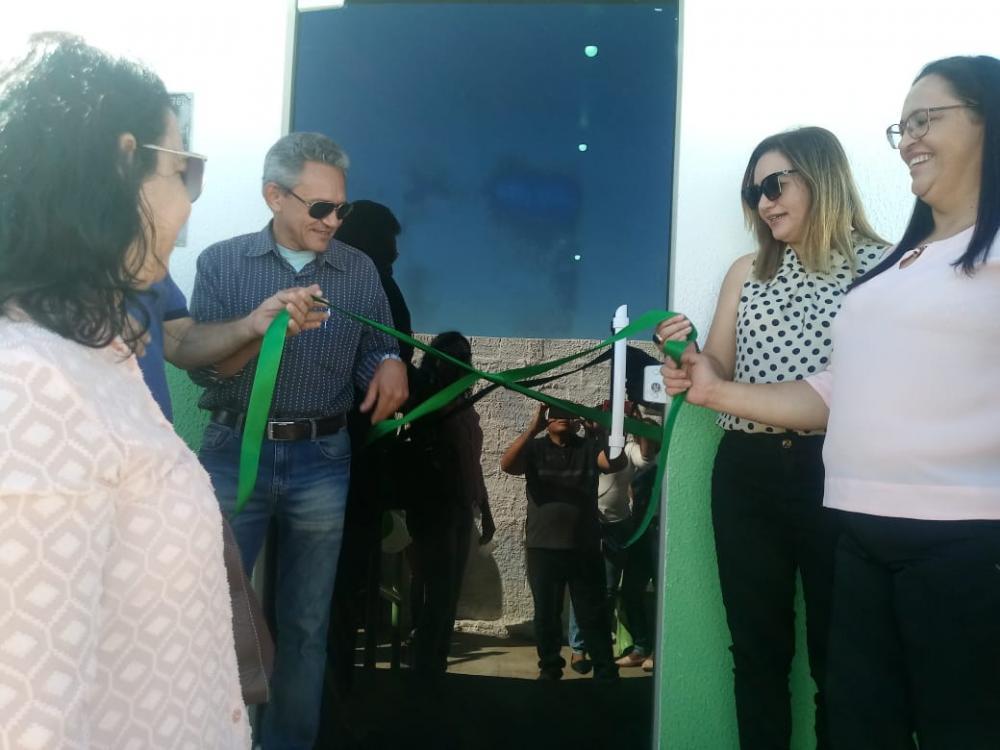 Inauguração da reforma da unidade de Saúde do bairro Jaicó (Imagem: Divulgação Ascom)