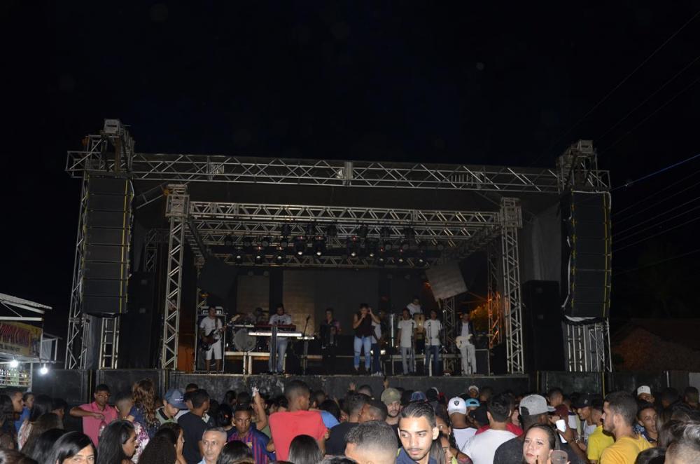 Show de encerramento do festejo de Santo Antônios dos Milagres (Imagem: CANAL 121)