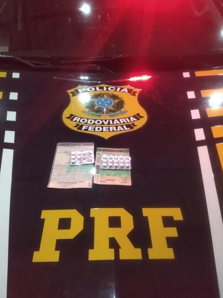PRF autua condutor por porte de drogas para consumo em Valença do Piauí