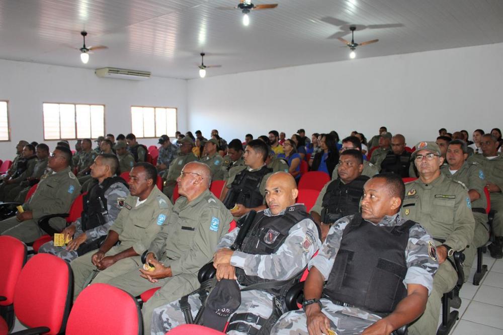 Evento comemorativo pelos 184 anos da Polícia Militar do Piauí (Imagem: Valdomiro Gomes/CANAL 121)