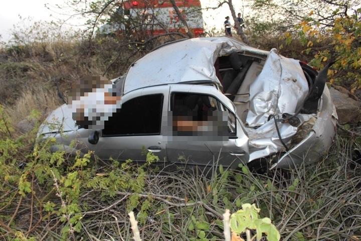 Carro do acidente (Imagem: Divulgação-FN notícias)