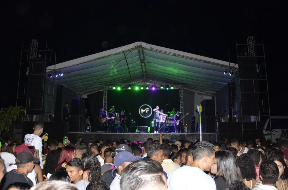Show de Matheus Fernandes (Imagem: Valdomiro Gomes/CANAL 121)