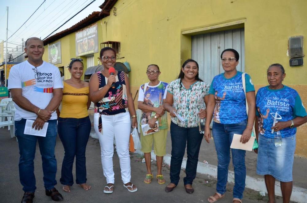 Procissão de Fé encerra os Festejos de São João Batista, em Barro Duro; imagens