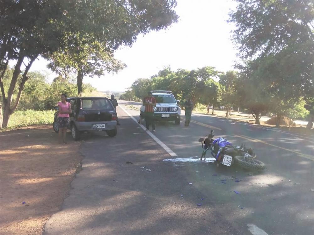 Veículo envolvidos no acidente (Imagem: Divulgação)