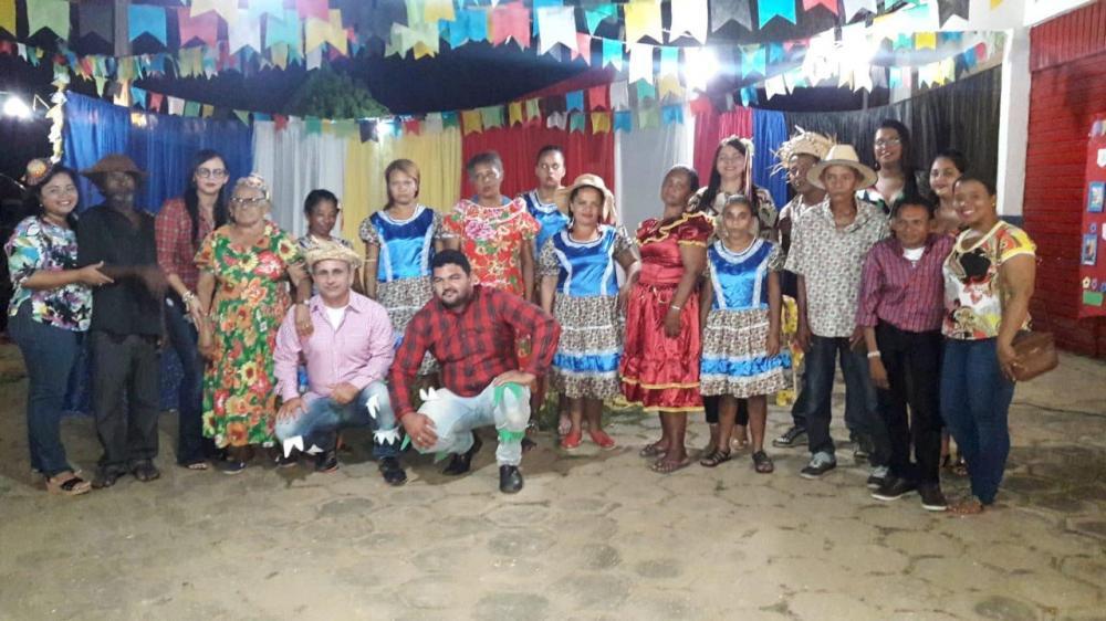 Secretaria de Saúde de Angical do Piauí realiza Festa Junina para pacientes do CAPS