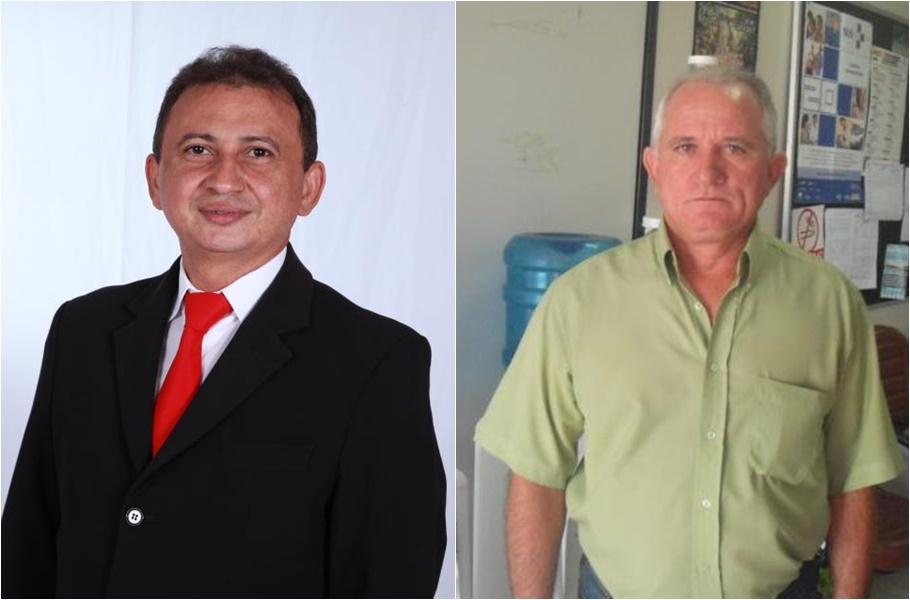Napoleão Cortez Filho e Higino Barbosa Filho (Imagem: Reprodução Facebook)