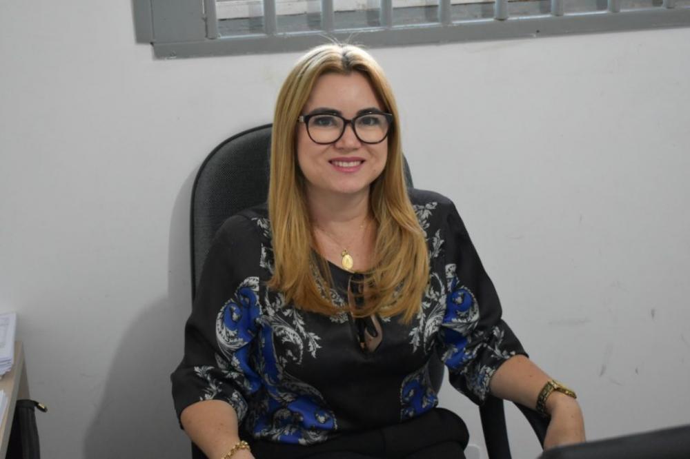 Secretária de Finanças, Antônia Maria- Foto: CCOM