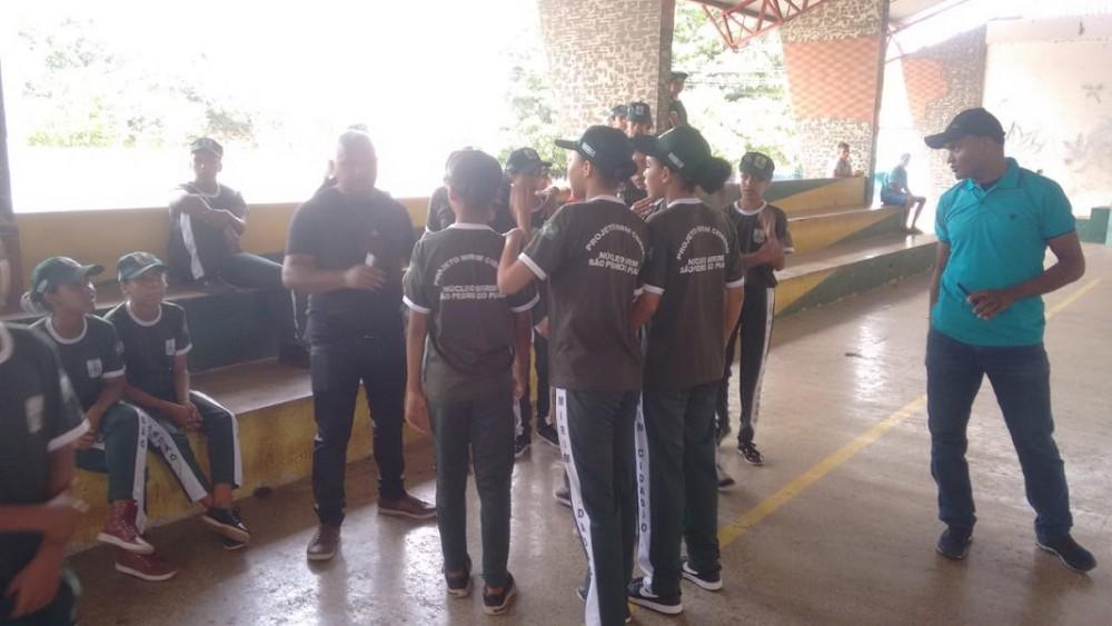 Mirim Cidadão | Atividades e entrega de instrumentos musicais encerram o 1º semestre em São Pedro do Piauí