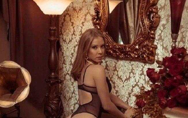 Najila Trindade aparece em campanha de marca de lingerie Fonte: Esporte - iG