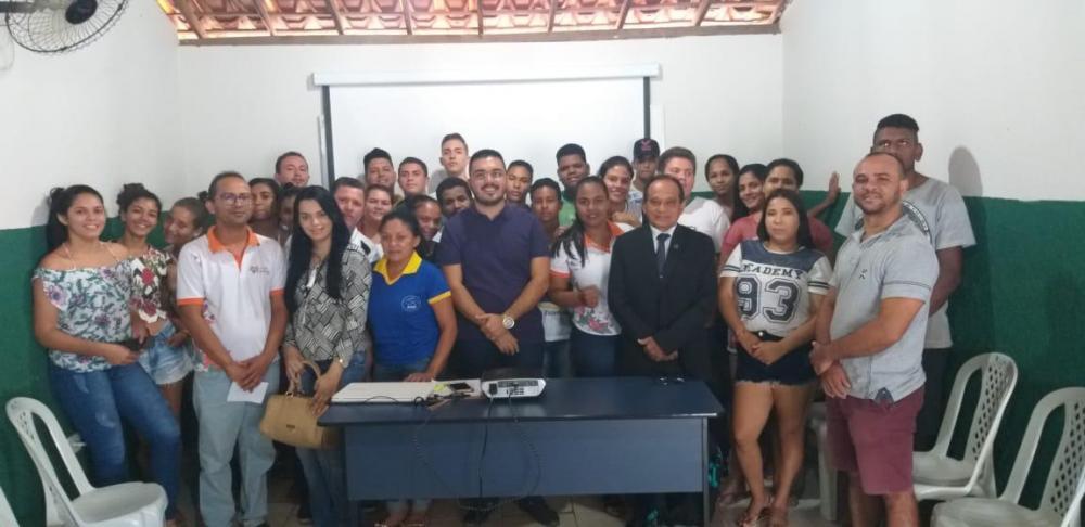 Água Branca inicia atividades do comitê gestor local da Estação Juventude
