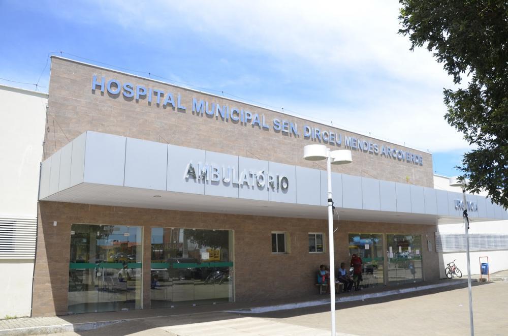Hospital de Água Branca (Imagem: Valdomiro Gomes/CANAL 121)
