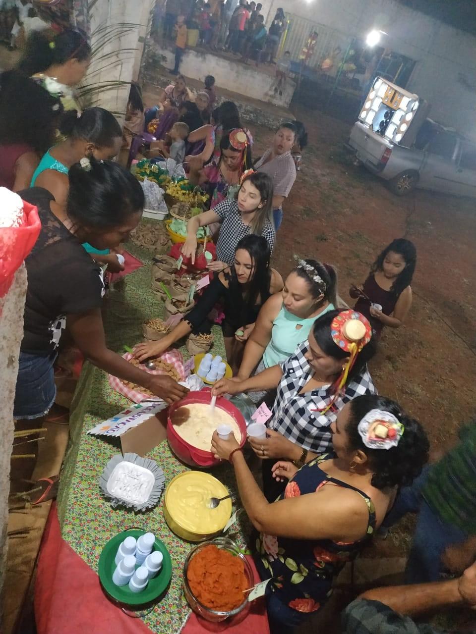 Secretaria de Assistência Social realiza arraiá para crianças do SCFV