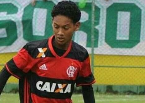 Piauiense de 15 anos é destaque nas categorias de base do Flamengo do Rio de Janeiro