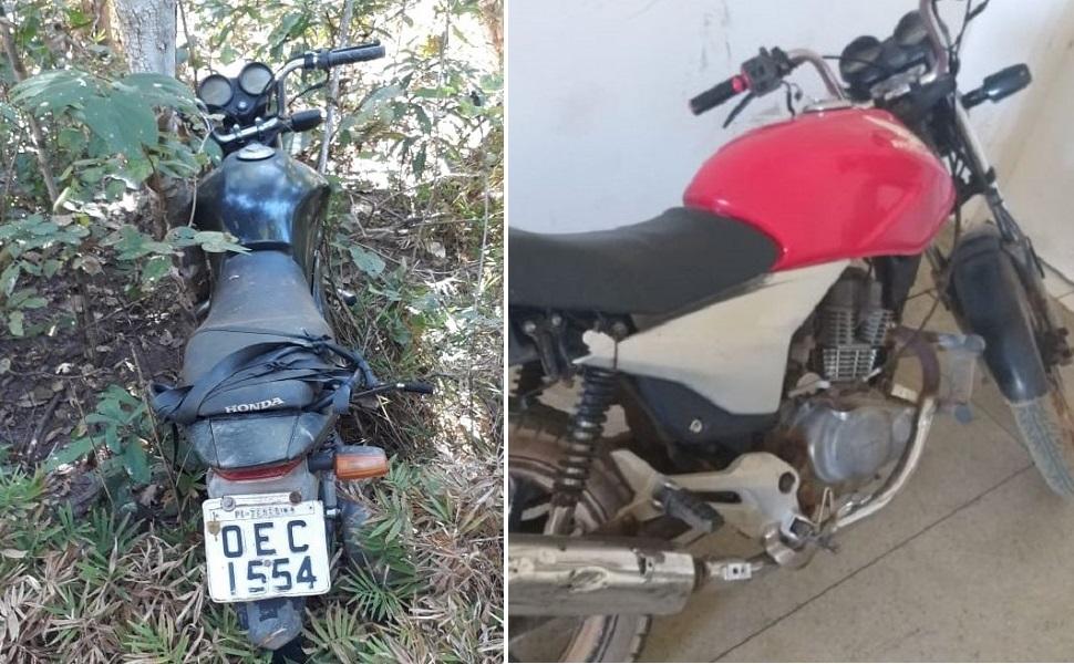 Motocicleta encontradas e apreendidas (Imagem: Divulgação)