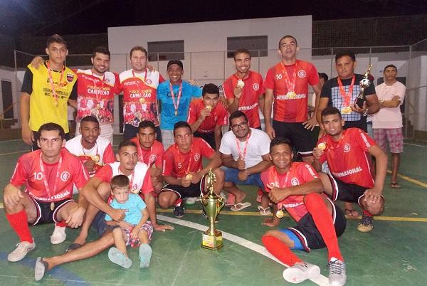 Internacional de São Gonçalo vence Cruzeiro de Água Branca e é o grande campeão da I Copa São Pedro de Futsal