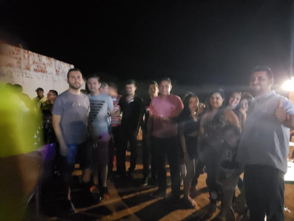 Prefeito e comitiva participam da 6ª vaquejada do parque Francisco Cunha