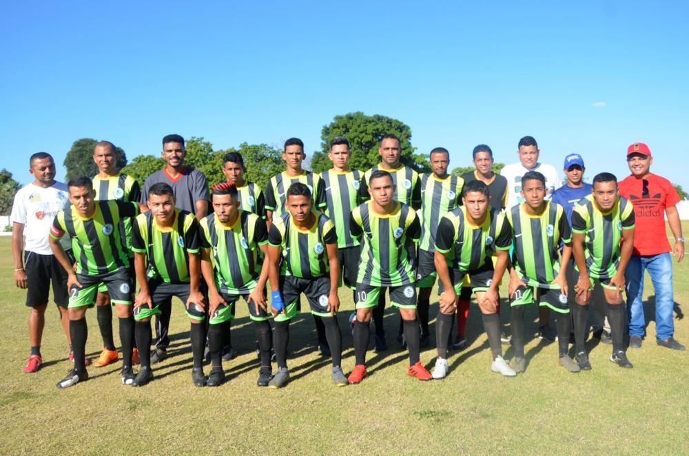 Seleção de Jardim do Mulato (Imagem: Valdomiro Gomes/CANAL 121)