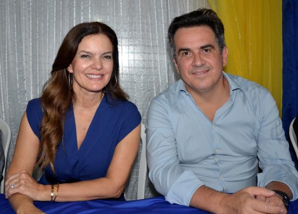 Iracema Portella e Ciro Nogueira (Imagem: Valdomiro Gomes/CANAL 121)