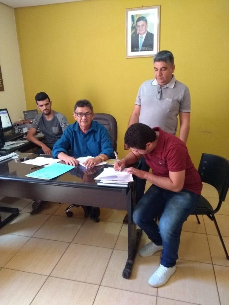 Prefeito de Lagoa do Sítio nomeia Coordenador do NASF