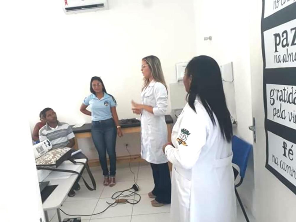 Prefeitura de Amarante realiza palestra sobre o AVC na localidade Emparedada