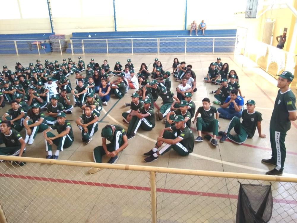 Após o recesso das férias, Projeto Mirim Cidadão reinicia suas atividades em Amarante