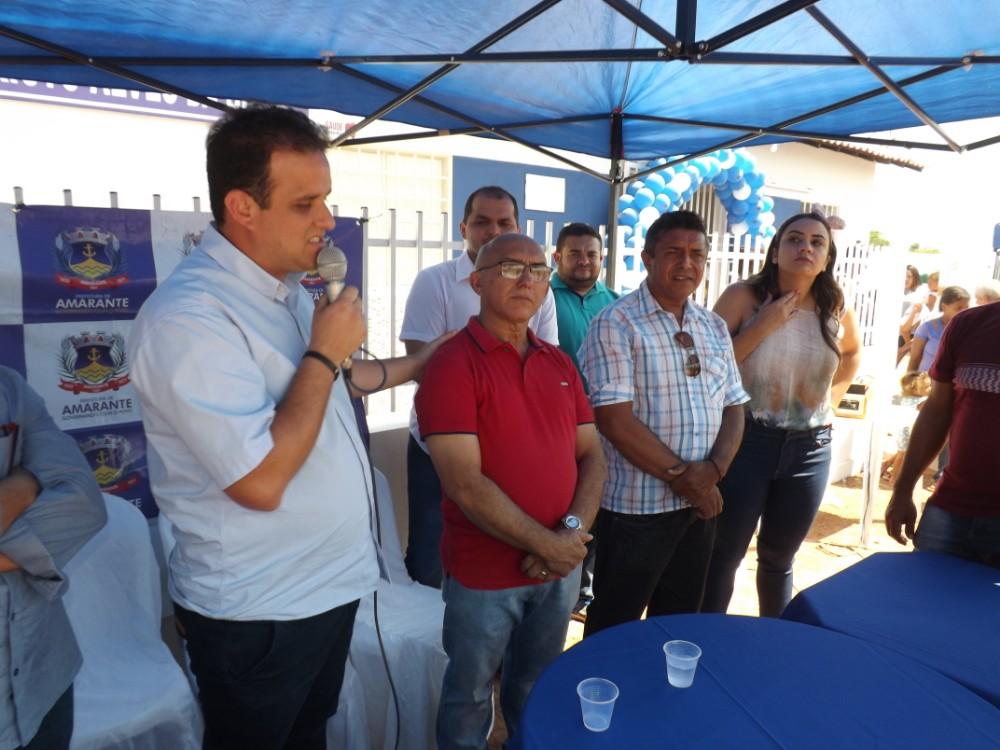 Prefeitura Municipal de Amarante inaugura UBS na Comunidade Recanto