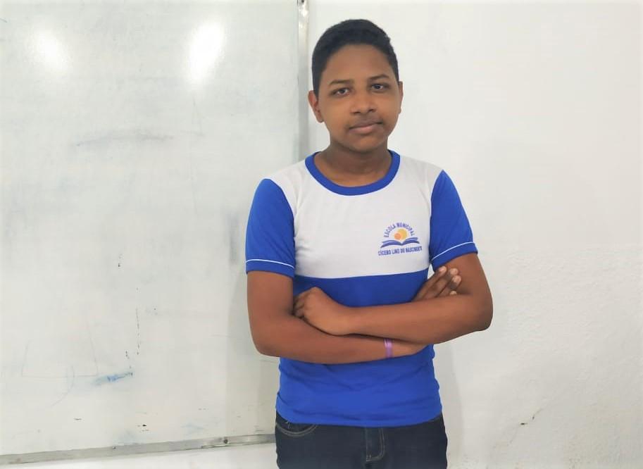 Raí de Sousa Barbosa (Imagem: Divulgação/Escola)