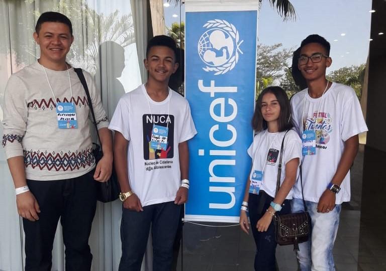 Representantes do NUCA de Angical (Imagem: Divulgação)