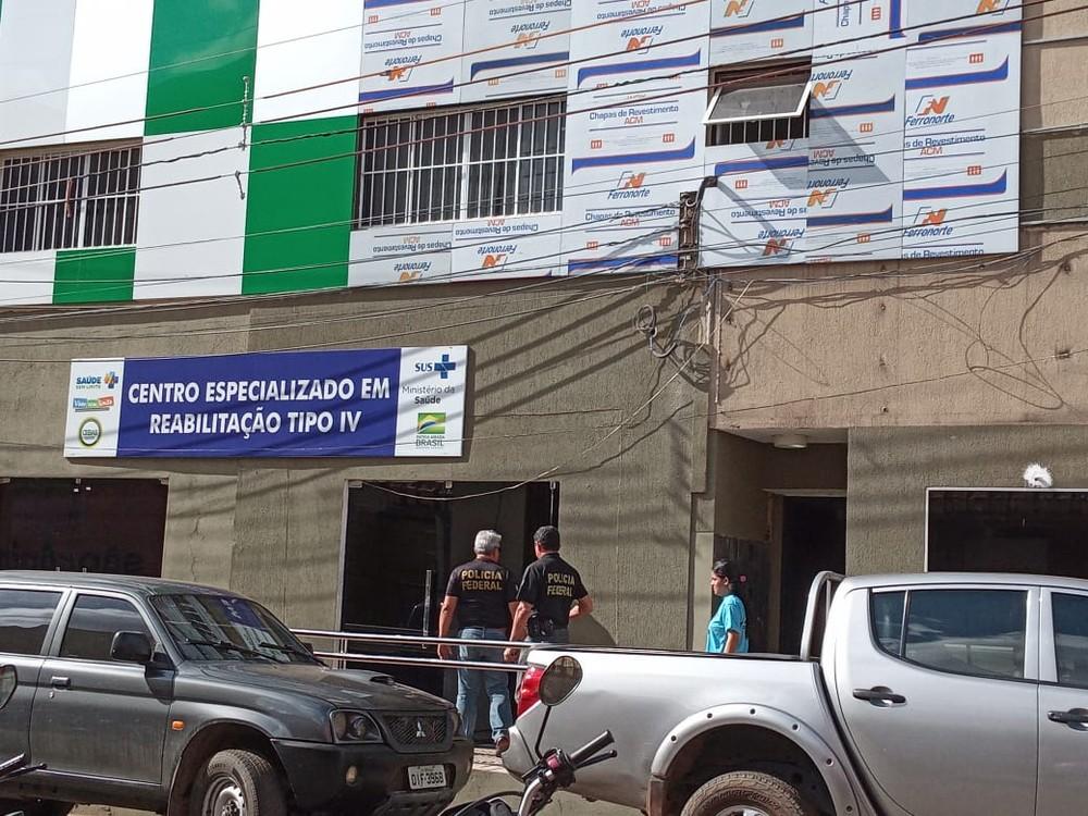 PF cumpre mandados por suspeita de fraudes contra o SUS no Piauí. — Foto: Paula Monize/Arquivo pessoal