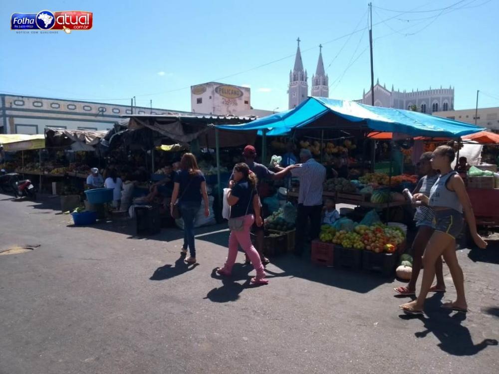 Feira livre de Picos - Foto: Jailson Dias