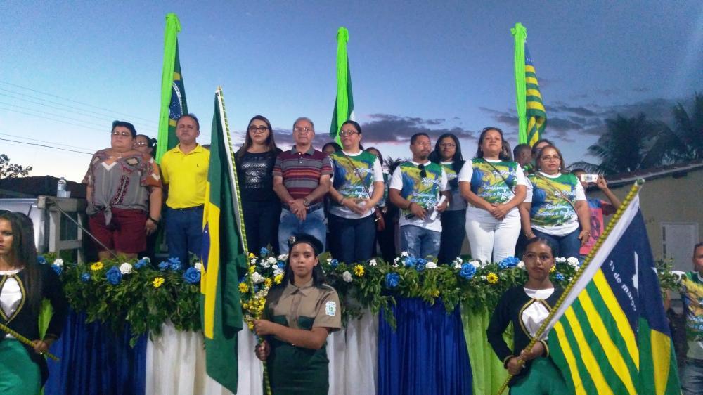 Barro Duro realiza Desfile Cívico em alusão aos 197 anos de Independência