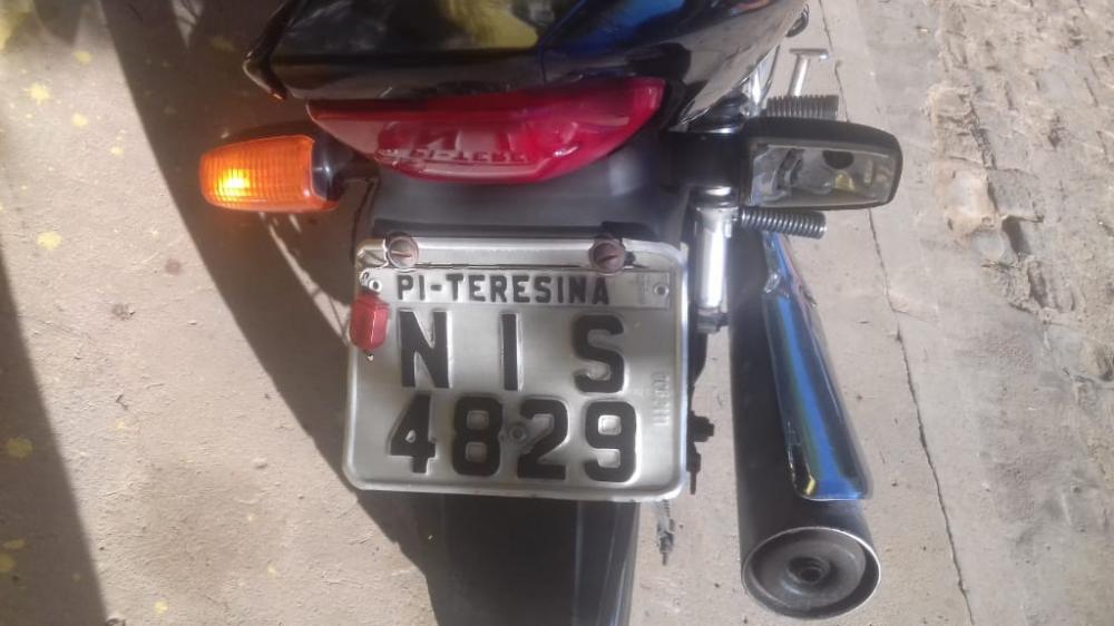 Motocicleta furtada (Imagem: Divulgação)