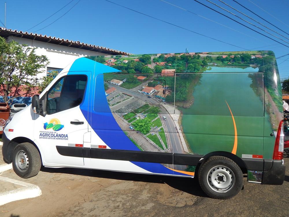 Saúde de Agricolândia é contemplada com Van para transporte de pacientes