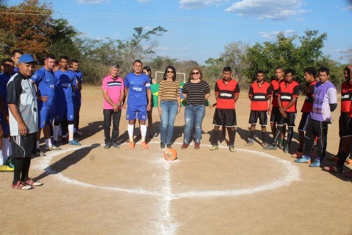 Abertura do 3º campeonato rural de futebol Amador do povoado Isidoria
