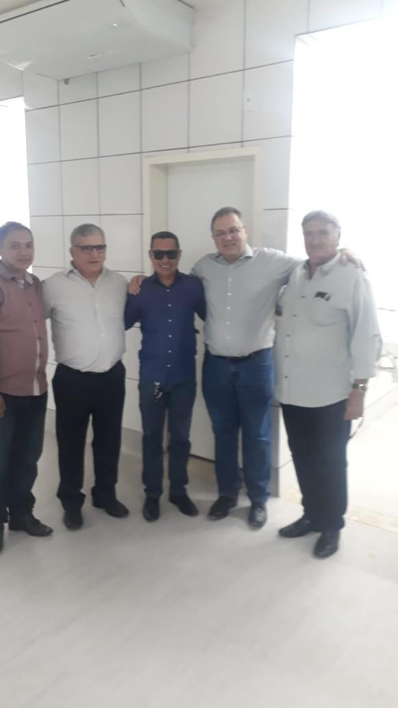 Paulo construtor participa de inauguração da nova área de Urgência e Emergência em União